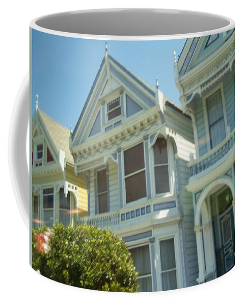 Victorians Coffee Mug featuring the photograph Victorians by Pharris Art