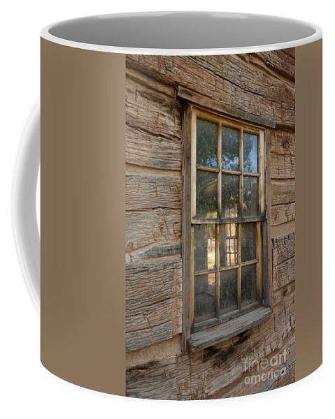 Bronstein Coffee Mug featuring the photograph View To The Past by Sandra Bronstein