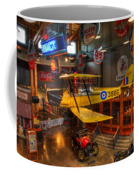 Vintage Airplane Coffee Mug featuring the photograph Vintage Assortment by Bob Christopher