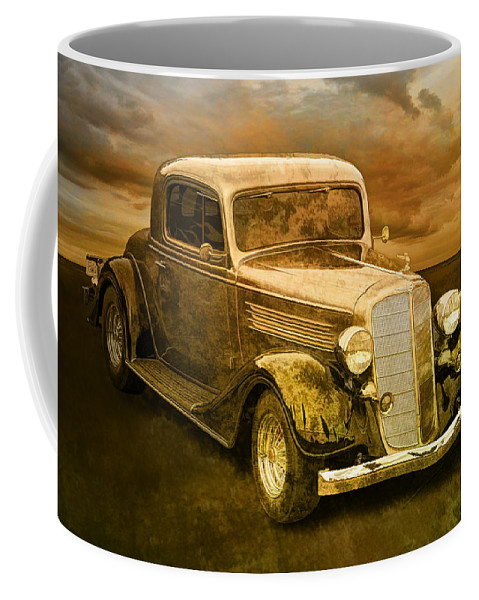 Art Coffee Mug featuring the photograph Vintage Automobile No.007 by Randall Nyhof