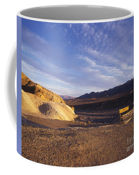 Death Valley Coffee Mug featuring the photograph Waiting by Jim And Emily Bush