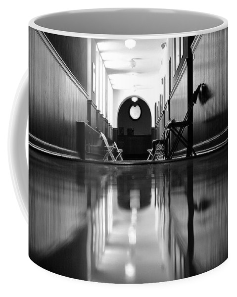 Groton School Coffee Mug featuring the photograph Waiting by Marysue Ryan