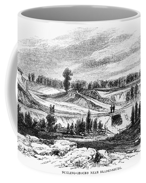 1814 Coffee Mug featuring the photograph War Of 1812: Bladensburg by Granger