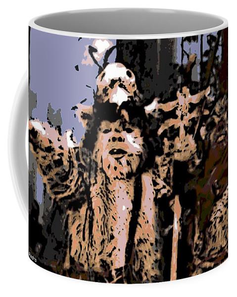 Ewoks Coffee Mug featuring the photograph Warriors by George Pedro