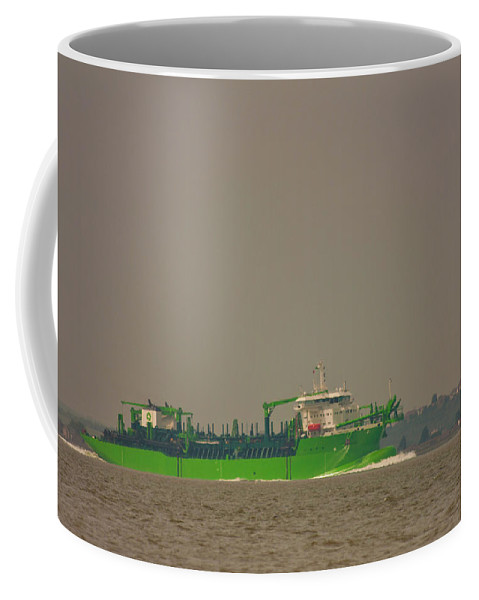 All Hallows Coffee Mug featuring the photograph Waste Disposal by Dawn OConnor