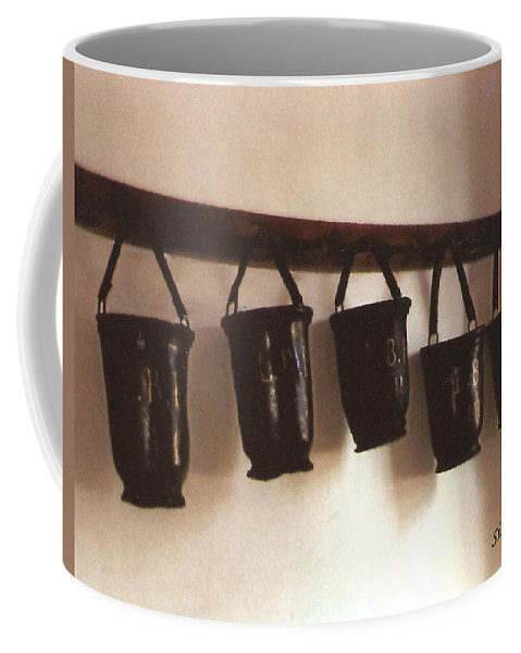 Water Buckets Coffee Mug featuring the photograph Water Buckets by Lee Hartsell