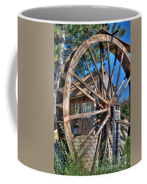 Apple Hill Coffee Mug featuring the photograph Water Mill by Diego Re