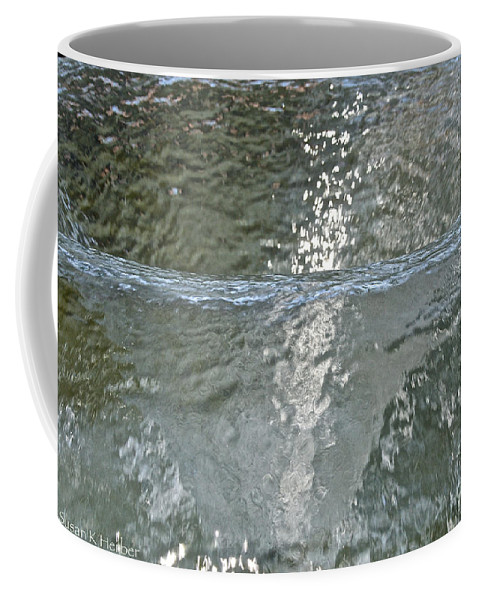 Water Coffee Mug featuring the photograph Water Wall by Susan Herber