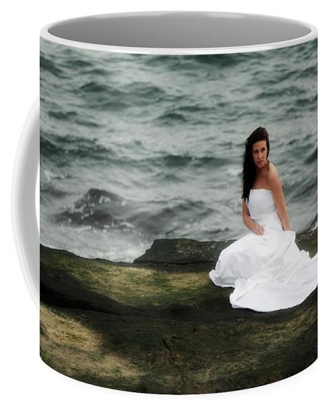 Ocean Coffee Mug featuring the photograph Waves And Rocks by Rick Berk