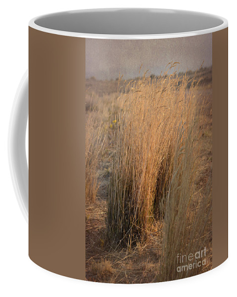 Grass Coffee Mug featuring the photograph Waves Of Grass by Donna Greene
