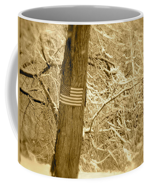 Landscape Coffee Mug featuring the photograph We Shall Overcome by Arthur Barnes
