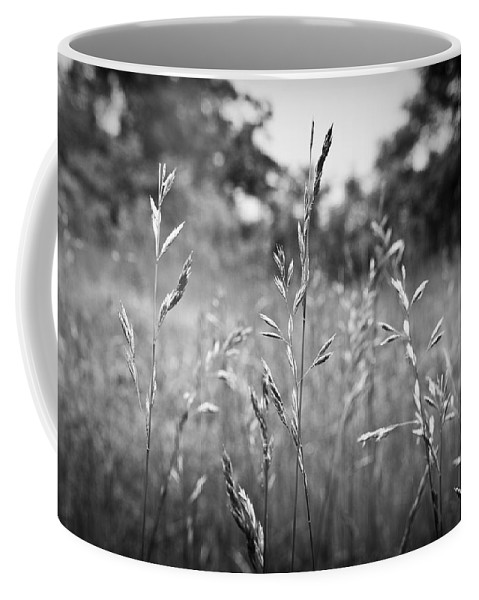 Black And White Coffee Mug featuring the photograph We Stand Together by Kacy Taylor