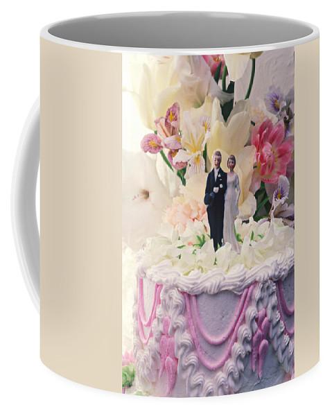 Wedding Coffee Mug featuring the photograph Wedding Cake by Garry Gay