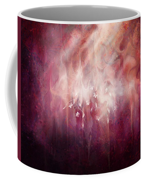 Landscape Coffee Mug featuring the digital art Weight of Glory by William Russell Nowicki