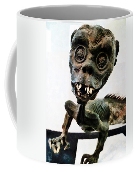 Artefact Coffee Mug featuring the photograph Welcome To My World by Steve Taylor