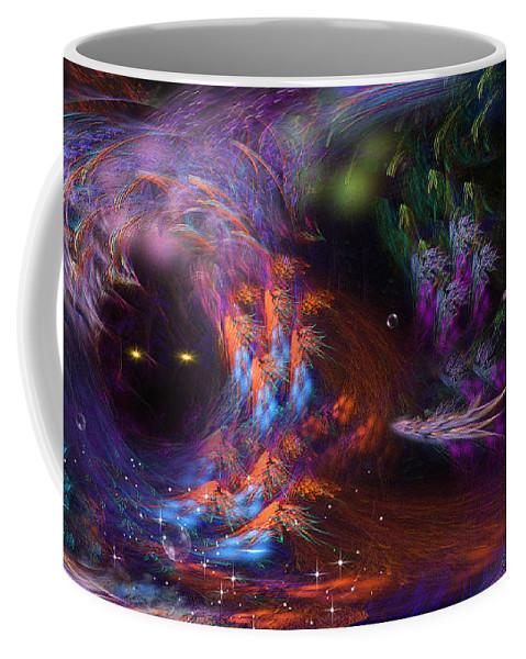 Phil Sadler Coffee Mug featuring the digital art We'll Leave The Light On.... by Phil Sadler