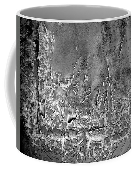 Abstract Coffee Mug featuring the photograph Well Weathered by Chris Berry