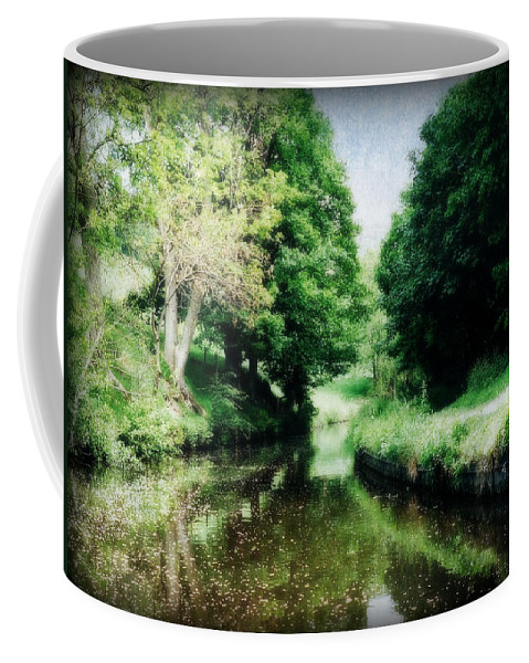 Canal Coffee Mug featuring the photograph Welsh Canal Dream by Marilyn Wilson