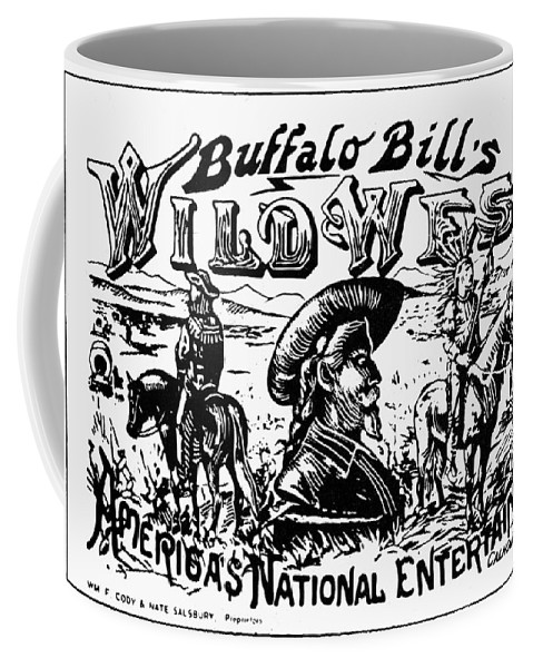 19th Century Coffee Mug featuring the photograph W.f. Cody Poster by Granger
