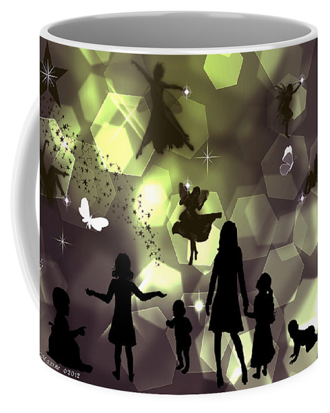 Wish Coffee Mug featuring the digital art When You Wish Upon A Star by Ericamaxine Price