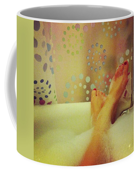 Relax Coffee Mug featuring the photograph Where I Relax by Katie Cupcakes