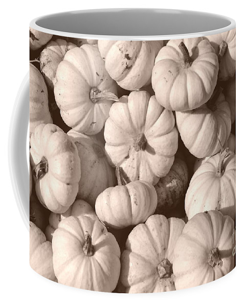 Squash Coffee Mug featuring the photograph White Squash by Kevin Fortier