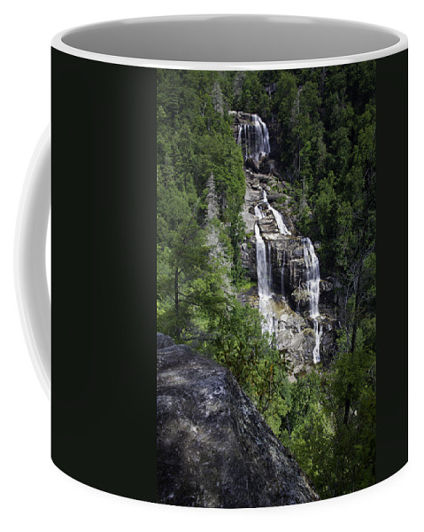 Waterfall Coffee Mug featuring the photograph Whitewater Falls by Rob Travis