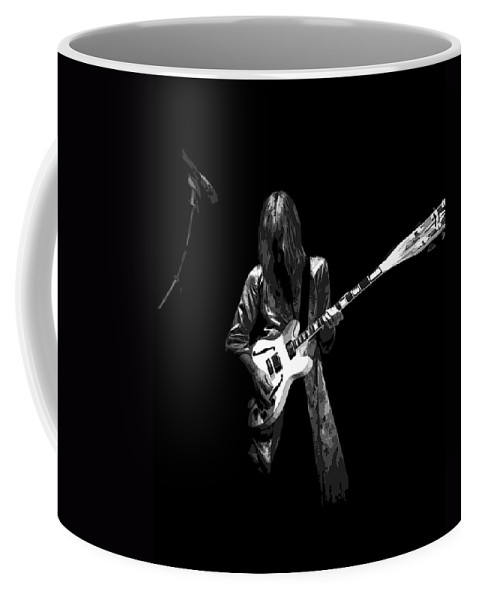 Rock Art Coffee Mug featuring the photograph Wild Guitar by Ben Upham