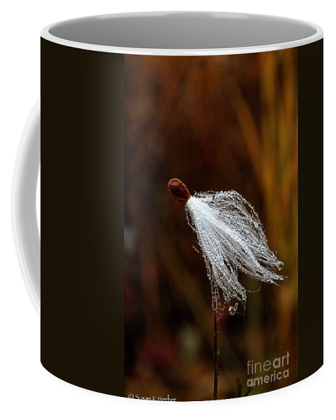 Flower Coffee Mug featuring the photograph Wild Seed by Susan Herber