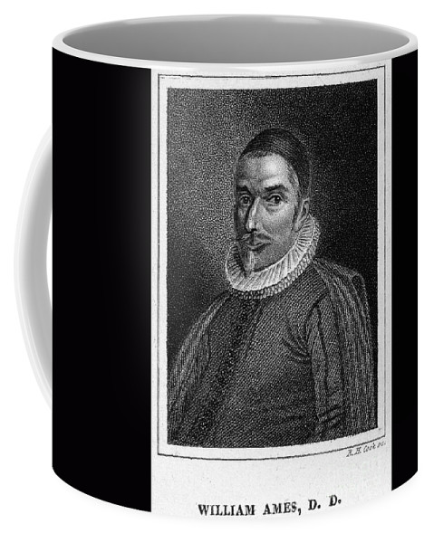 16th Century Coffee Mug featuring the photograph William Ames (1576-1633) by Granger