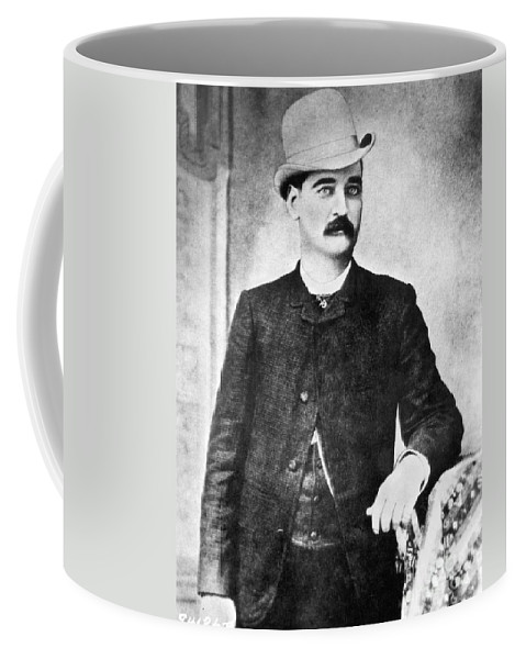 19th Century Coffee Mug featuring the photograph William Barclay Masterson by Granger