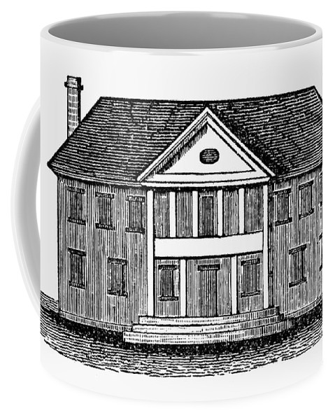 18th Century Coffee Mug featuring the photograph Williamsburg: Capitol by Granger