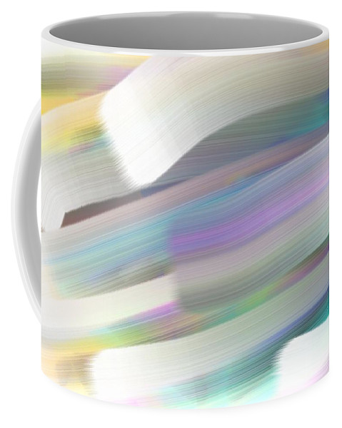 Wind Coffee Mug featuring the painting Wind by George Pedro