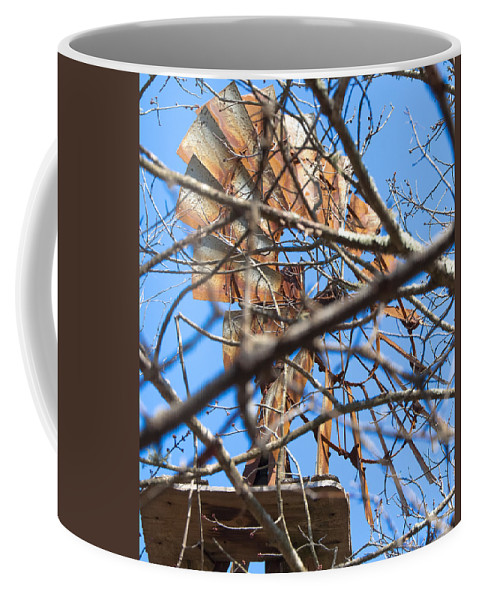 Windmill Coffee Mug featuring the photograph Windmill 1 by Steven Natanson