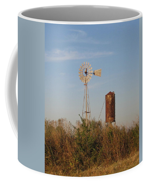 Coffee Mug featuring the photograph Windmill by Amy Hosp