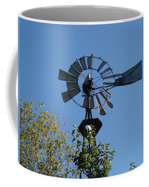 Windmill Coffee Mug featuring the photograph Windmill by Bonfire Photography