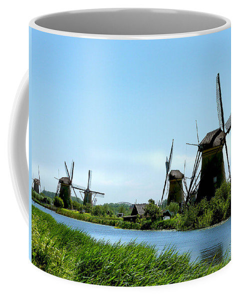 Windmills Coffee Mug featuring the photograph Windmills by Diana Haronis