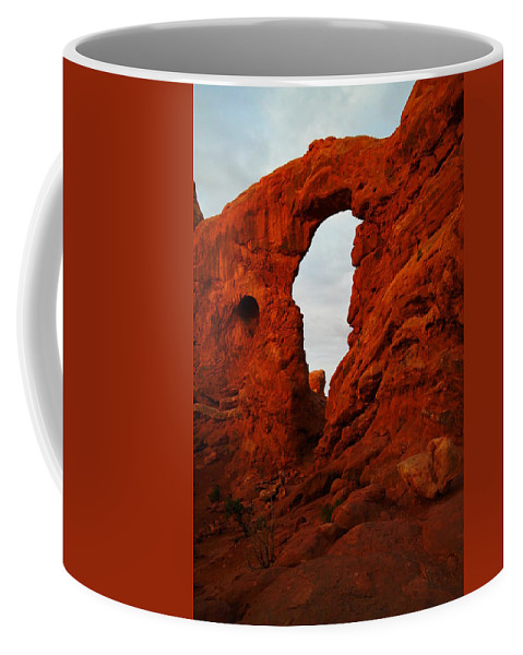 Landscape Coffee Mug featuring the photograph Windows by Jeff Swan