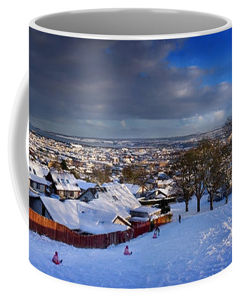 Winter In Inverness Coffee Mug featuring the photograph Winter In Inverness by Joe Macrae