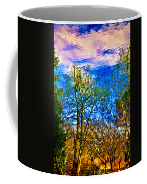 Pond Coffee Mug featuring the photograph Winter Reflection by Chris Lord