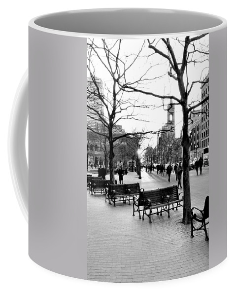 Art Coffee Mug featuring the photograph Winter Setting Sun by Greg Fortier