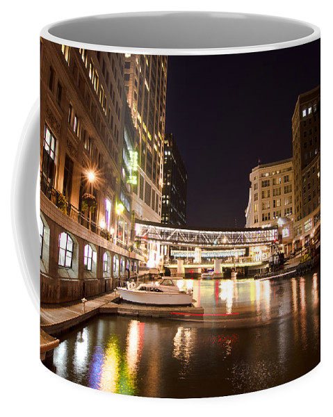 Milwaukee Coffee Mug featuring the photograph Wisconsin Avenue by Jonah Anderson
