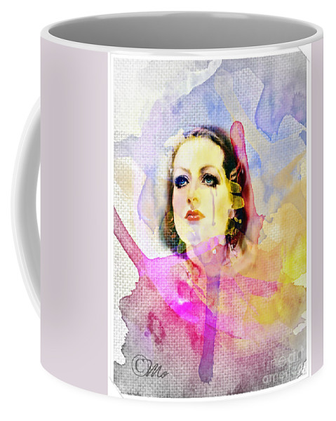 Woman's Soul Part 3 Coffee Mug featuring the digital art Woman's Soul Part 3 by Mo T