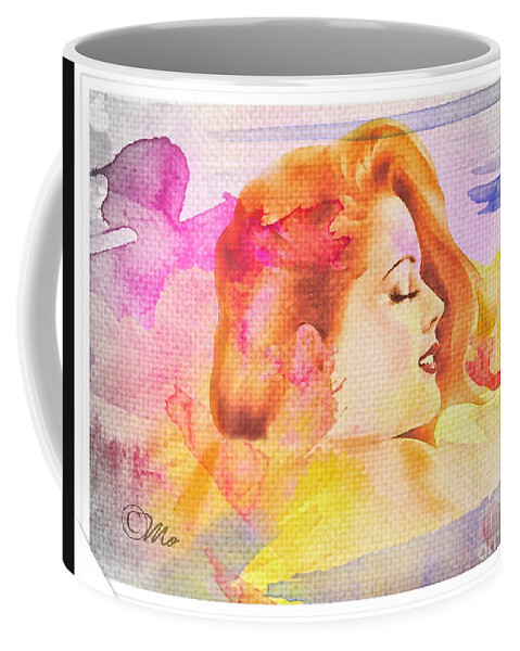 Woman's Soul Part 4 Coffee Mug featuring the photograph Woman's Soul Part 4 by Mo T
