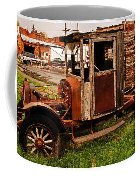 Barns Coffee Mug featuring the photograph Workhorse by Edward Peterson