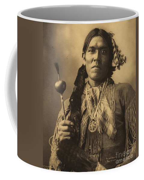 Pd: Reproduction Coffee Mug featuring the photograph Yellow Magpie Arapahoe by Pg Reproductions