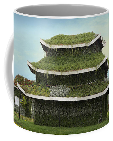 Vector Coffee Mug featuring the photograph Chinese House by Art Spectrum