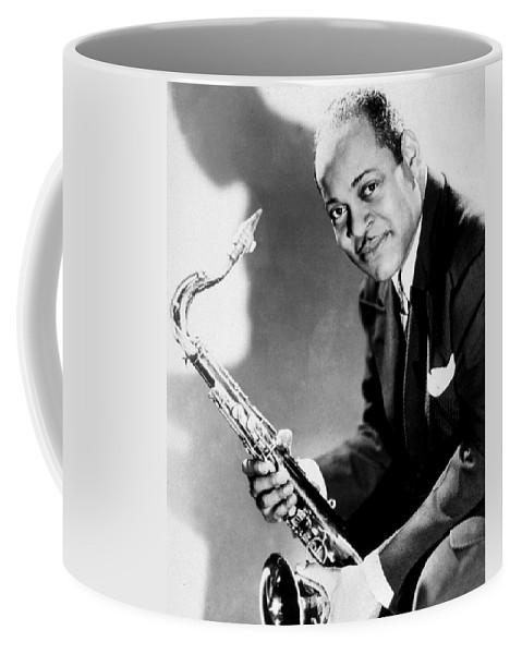 Music Coffee Mug featuring the photograph Coleman Hawkins by American School