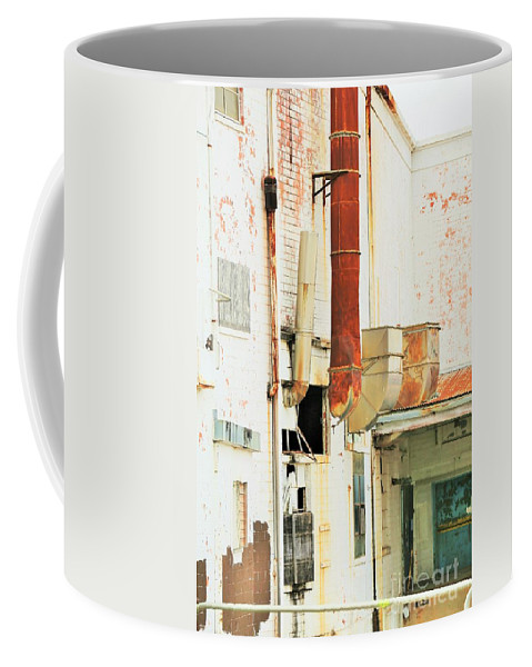 Landscape Coffee Mug featuring the photograph Decay by Jeff Downs
