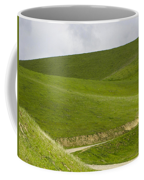 Landscape Coffee Mug featuring the photograph Green 1 by Karen W Meyer